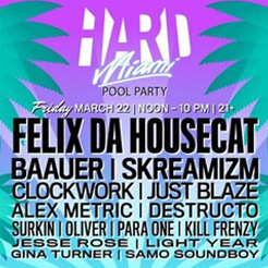 Hard Miami Pool Party
